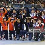 Yara zilver op de relay in Gangneung