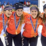 Shorttracksters grijpen wereldbekergoud in Seoul