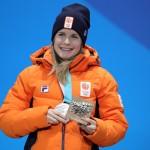 Yara neemt medaille in ontvangst!