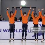 Yara GOUD op de relay in Almaty!